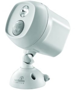 Acclaim Lighting(R) B225GR Motion-Activated LED Spotlight (Dove Gray)