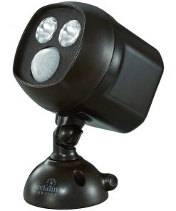 Acclaim Lighting(R) B295BZ Motion-Activated LED Dual Spotlight (Bronze)