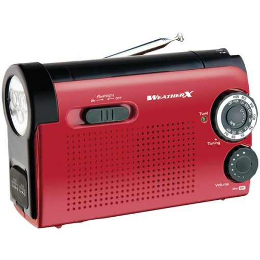 WeatherX(R) WR182R WeatherX(R) Flashlight with AM/FM/Weather Radio