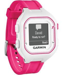 Garmin(R) 010-01353-21 Forerunner(R) 25 GPS Running Watch (Small; White/Pink)