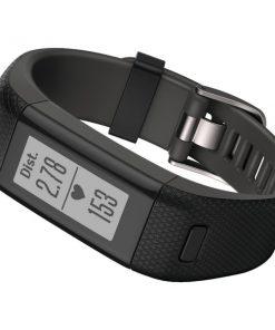 Garmin(R) 010-01955-39 vivosmart(R) HR+ Activity Tracker (XL Fit; Black)