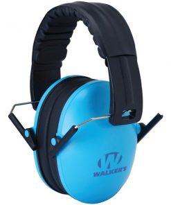 Walker's Game Ear(R) GWP-FKDM-BL Youth Folding Muff (Blue)