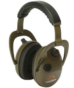 Walker's Game Ear(R) GWP-WREPMBN Alpha Power Muff D-Max Green Headphones with Microphone
