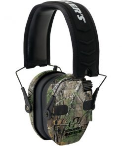 Walker's Game Ear(R) GWP-RSEQM-CMO Razor(R) Series Slim Realtree(R) Xtra Electronic Quad Muff