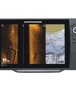 Humminbird(R) 410380-1 HELIX(R) 12 CHIRP MEGA SI GPS G2N Fishfinder