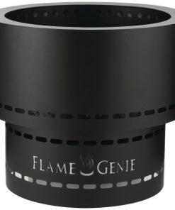 FlameGenie(TM) FG-19 Flame Genie INFERNO(TM) Wood Pellet Fire Pit (Black)