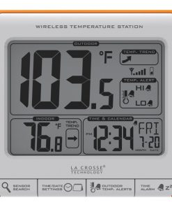 La Crosse Technology(R) 308-179OR Wireless Weather Station
