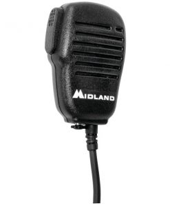 Midland(R) AVPH10 Handheld/Wearable Speaker Microphone with Push-to-Talk for GMRS Radios