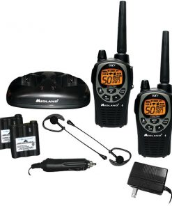 Midland(R) GXT1000VP4 36-Mile GMRS Radio Pair Pack with Drop-in Charger & Rechargeable Batteries