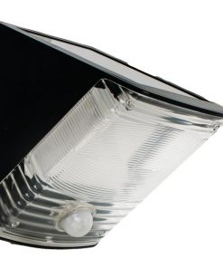 MAXSA(R) Innovations 40236 Solar-Powered Motion-Activated Wedge Light (Black)