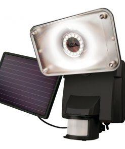 MAXSA(R) Innovations 44641 Motion-Activated Solar LED Security Flood Light (Black)