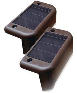 MAXSA(R) Innovations 47332 Solar-Powered Deck Lights