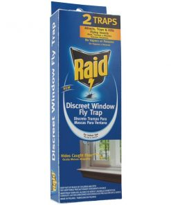 PIC(R) FLYHIDE-RAID Discreet Window Fly Trap