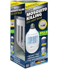 Zapplight(R) IKB-ZAPP 2-in-1 Insect Killer & LED Bulb