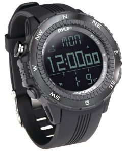 Pyle Pro(R) PSWWM82BK Digital Multifunction Active Sports Watch (Black)