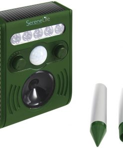 Serene Life AZPSLSAR3 Solar Power Animal Repeller