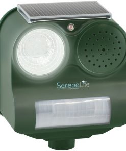 Serene Life AZPSLSAR4 Solar Power Pest Repeller