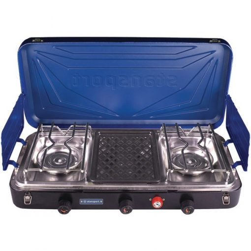 Stansport(TM) 212-600-50 Outfitter Series 3-Burner Propane Stove