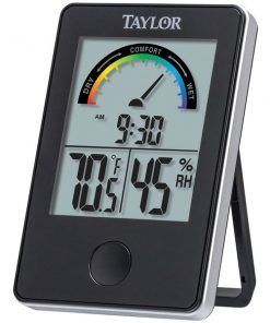 Taylor(R) Precision Products 1732 Indoor Digital Comfort Level Station with Hydrometer
