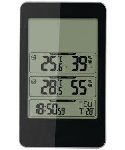 Taylor(R) Precision Products 1733 Indoor/Outdoor Digital Thermometer with Barometer & Timer