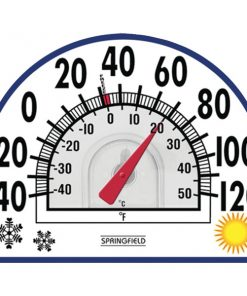 Springfield(R) Precision 91157 4-Season Window Cling Thermometer