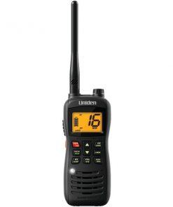 Uniden(R) MHS126 Handheld Floating 2-Way VHF Marine Radio