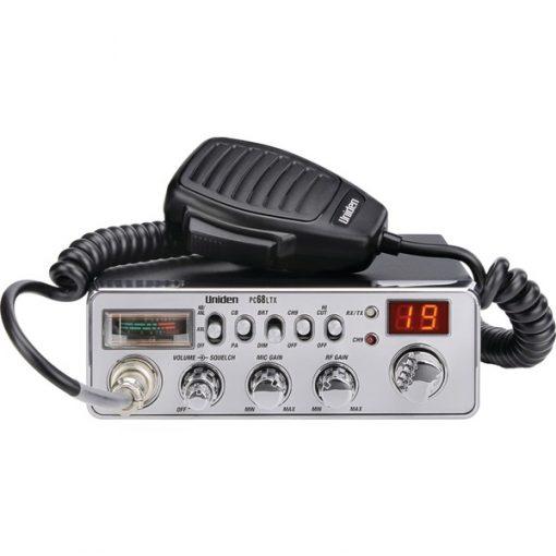 Uniden(R) PC68LTX 40-Channel CB Radio (Without SWR Meter)
