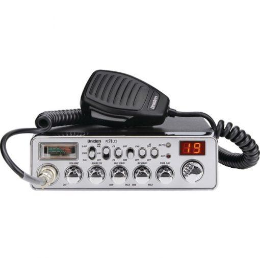 Uniden(R) PC78LTX 40-Channel CB Radio (With SWR Meter)