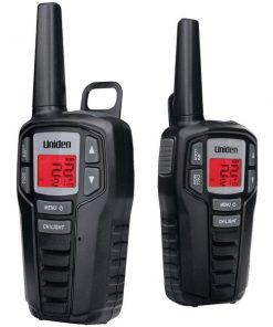 Uniden(R) SX237-2C 23-Mile 2-Way FRS/GMRS Radios (micro USB Y-Cable)