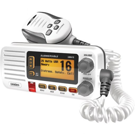 Uniden(R) UM415 Oceanus D Marine Radio (White)