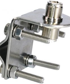 Tram(R) 3270 Stainless Steel SO-239 to SO-239 Antenna Mirror Mount