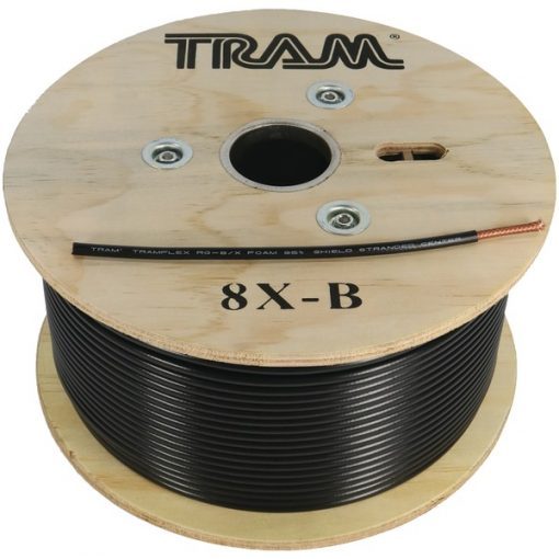 Tram(R) 8X-B RG8X 500ft Roll Tramflex Coaxial Cable