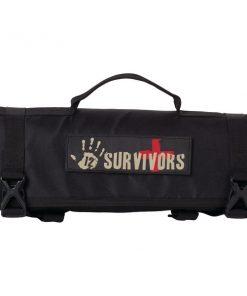 12 Survivors TS42000B First Aid Rollup Kit
