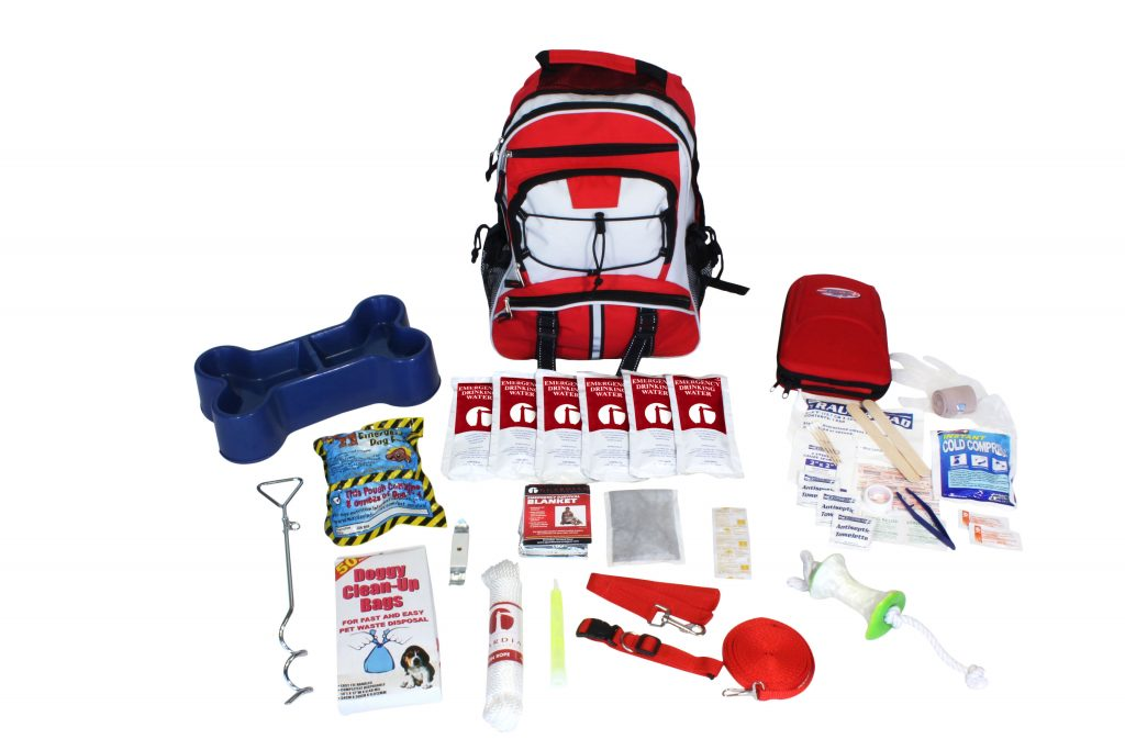Deluxe Pet Dog Survival Kit