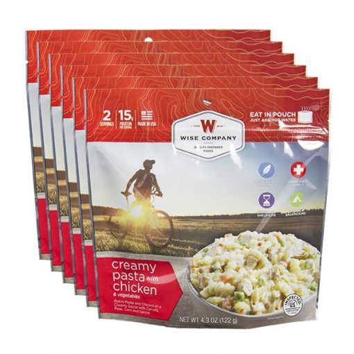 cook in the pouch food products