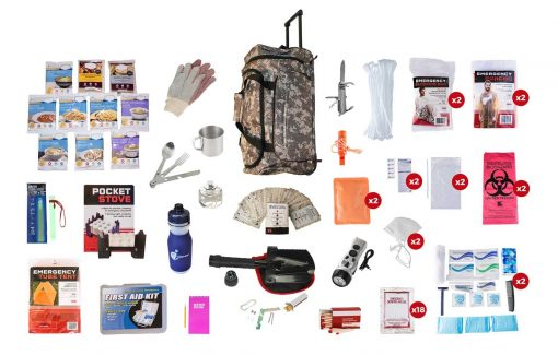 camo survival kit backpack wholesale dropship