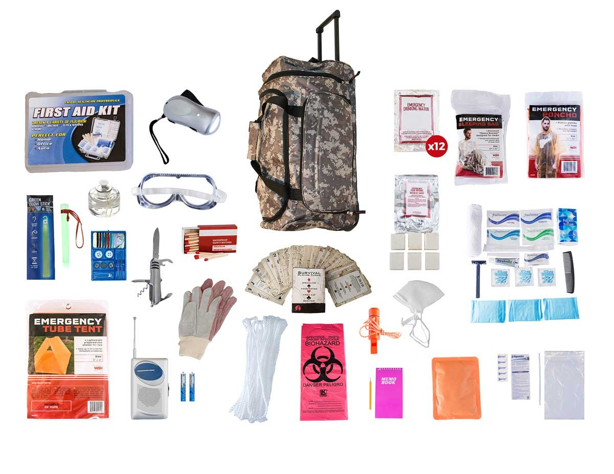Order Online 1 Person Elite Survival Kit 72 Hours Sktk